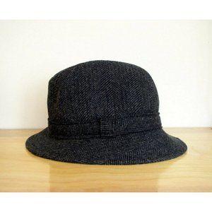 Pendleton Mens Charcoal Gray Wool Fedora Hat